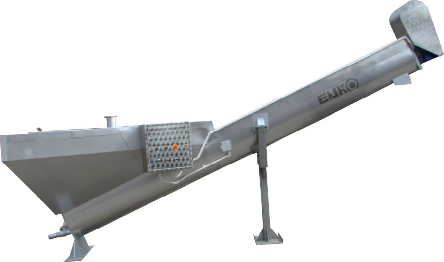 Sand And Slag Separator : Enko products waste water treatment plants sand